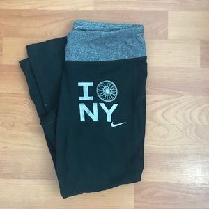 Soulcycle x Nike cropped leggings